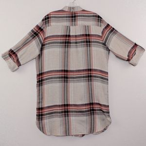 Simply Vera Vera Wang Tops - Simply Vera Vera Wang Plaid Flannel Tunic